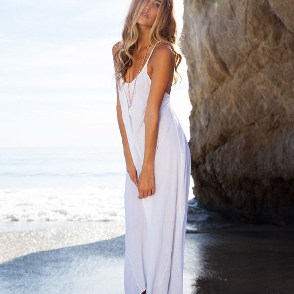 Backless Long Maxi Dress