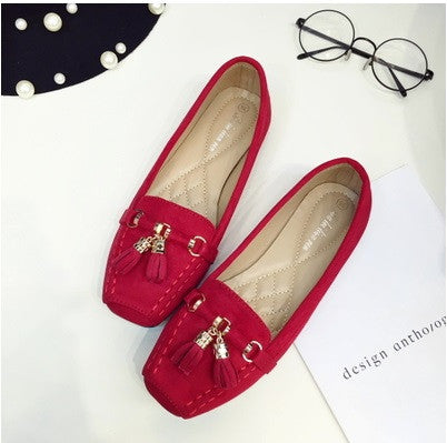 Tassel Loafer Flats
