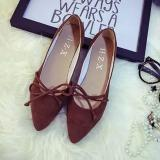 Flat Suede Flats