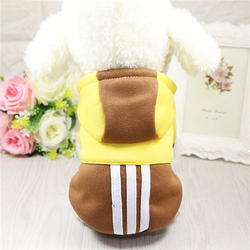Warm Fleece Soft Puppy Outfit