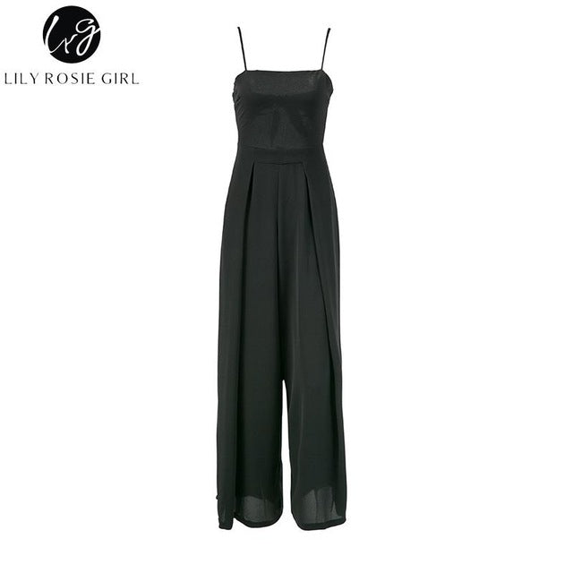 Backless Bow Jumpsuits
