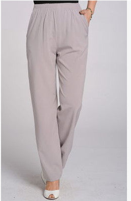 Elastic Trousers f