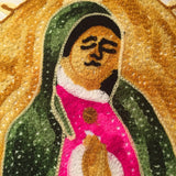Guadalupe Virgin Handmade Mexican Pillow Cover