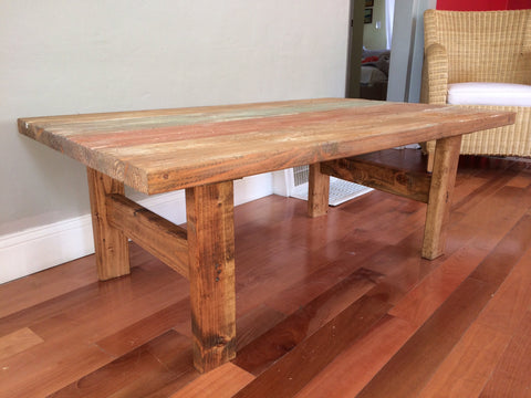 Handmade Wood Coffee Table