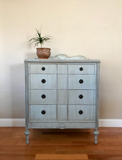 Antique Highboy Dresser Chest of Drawers