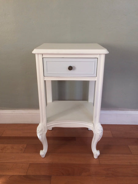 Restored French Provincial Antique Nighstand