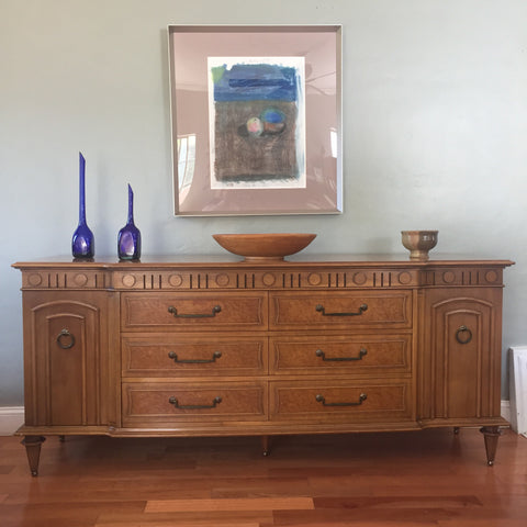 Mid Century Hollywood Regency Dresser Credenza