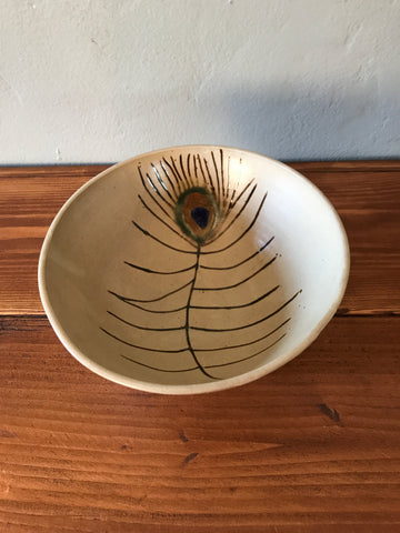 FREE SHIPPING - Mid Century Modern Studio Pottery Bowl