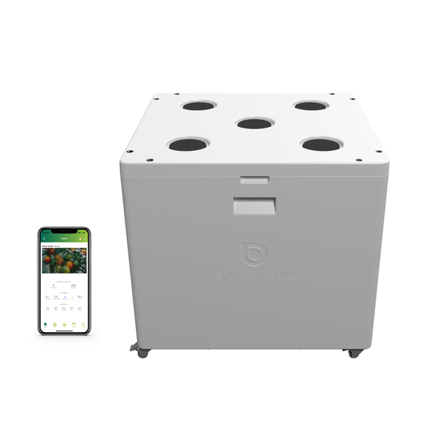 Automated high-pressure growing system and GrowOS app