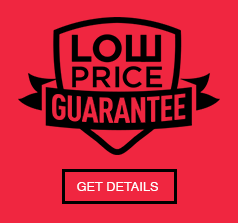 Lowest Price Guarantee - We will match and beat all prices