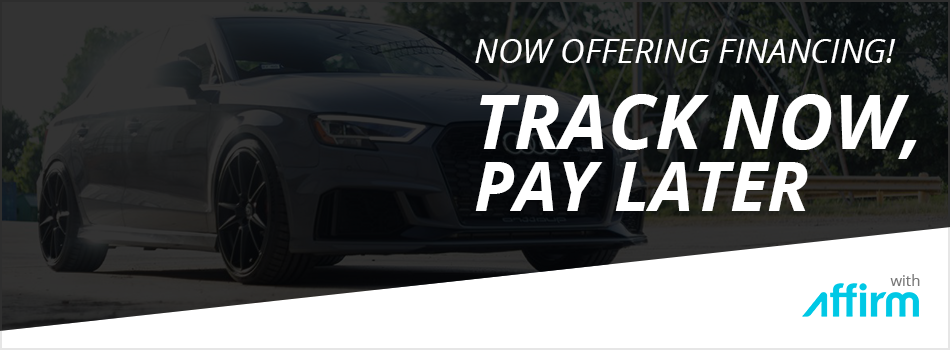 Track Now, Pay Later with Financing from Affirm