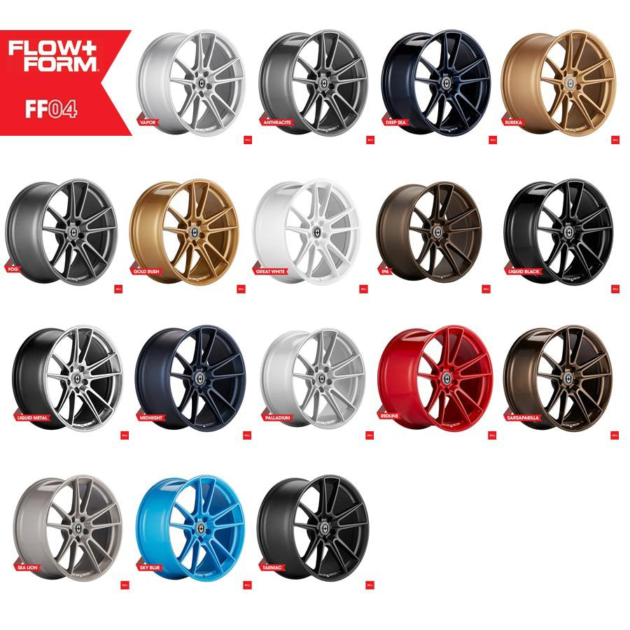 HRE FF04 Custom Color Finishes