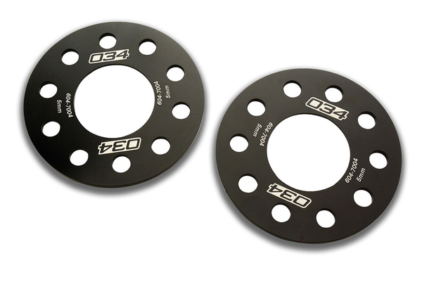 034 Motorsport Wheel Spacer - 5x112/5x100 5mm Pair