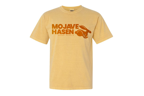 Mojave Hasen T-shirt - Yellow