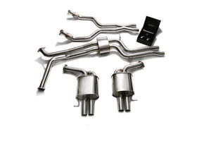 ARMYTRIX Stainless Steel Valvetronic Catback Exhaust System Audi RS6 | RS7 C7 4.0 TFSI V8 14-18