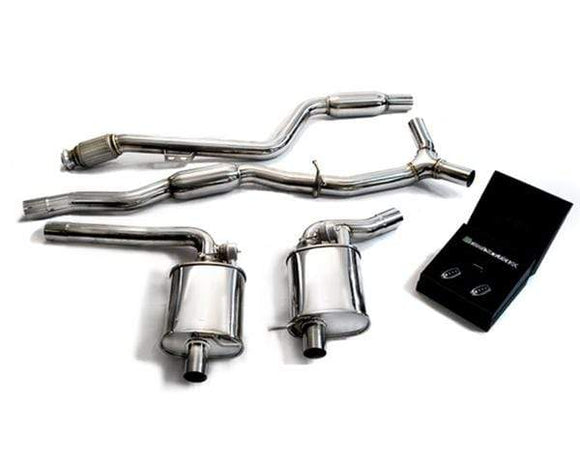 ARMYTRIX Stainless Steel Valvetronic Catback Exhaust System w| Temp Sensors Mercedes Benz C-Class W205 RHD 15+
