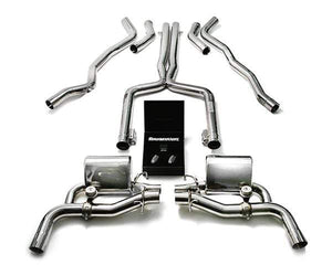 ARMYTRIX Stainless Steel Valvetronic Catback Exhaust System Mercedes Benz C63 AMG | AMG S W205 15+