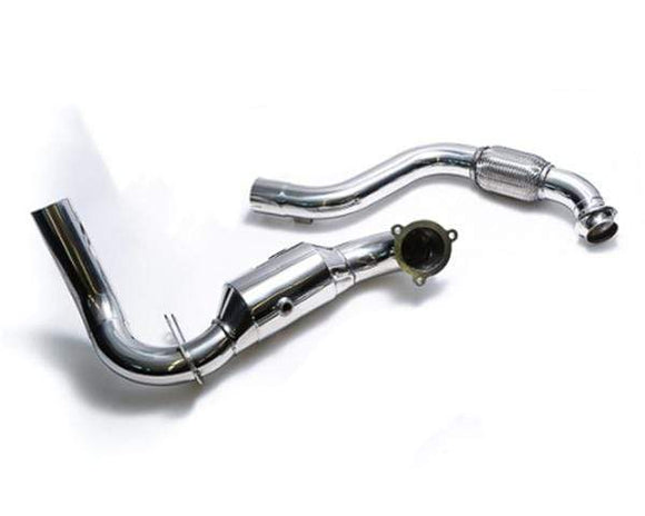 ARMYTRIX Ceramic Coated Sport Cat-Pipe with 200 CPSI Catalytic Converters and Link Pipe Mercedes-Benz A-Class | CLA-Class 13-18