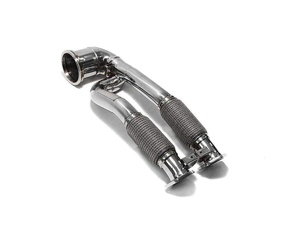 ARMYTRIX Ceramic Coated Sport Cat-Pipe With 200 CPSI Catalytic Converters Audi RS3 8V 2.5L Turbo Sportback 15+