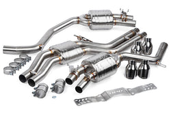 APR Catback Exhaust System (w/ Center Muffler) - C7 / C7.5 Audi S6 / S7