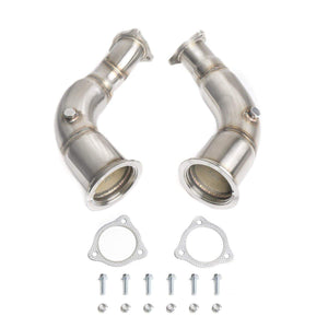CTS Turbo B9 Audi RS5 High-Flow Catalytic Converter