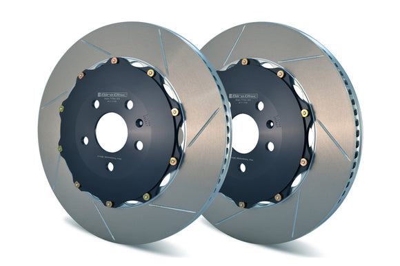 Girodisc Front 2pc Floating Rotors -  C7 S6/S7/S8