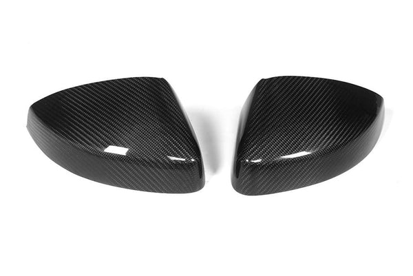 Carbon Fiber Mirror Covers (Lane Assist) - Audi 8V A3/S3/RS3