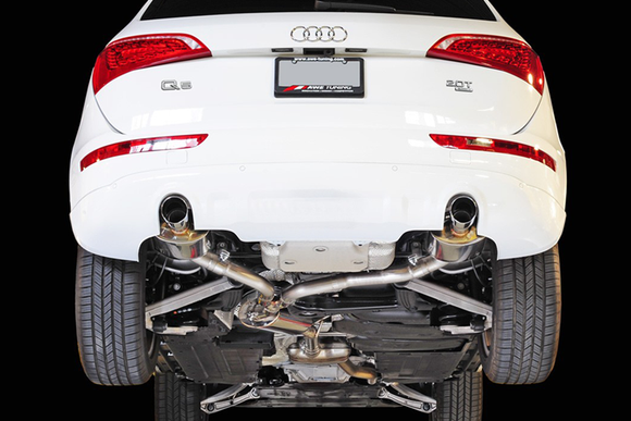 AWE Touring Edition Exhaust w/ Polished Tips - Audi 8R / B8 Q5 2.0T