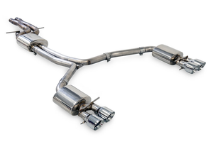 AWE Touring Edition Exhaust w/ Polished Tips - Audi C7 / C7.5 S6