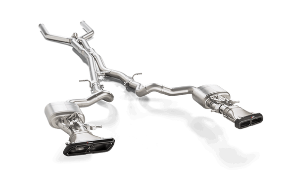 Akrapovic Titanium Catback Exhaust System - Mercedes-AMG E 63/E 63 S Sedan/Estate (W213/S213)