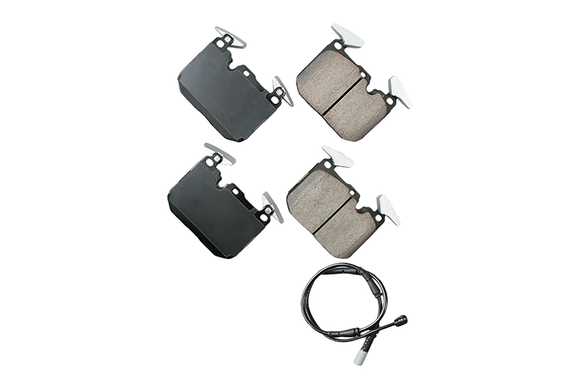 Akebono Front Euro Ceramic Brake Pad Set - BMW