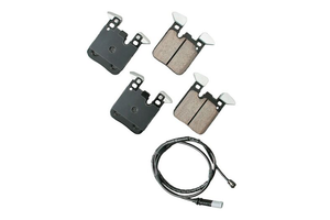 Akebono Rear Euro Ceramic Brake Pad Set - BMW