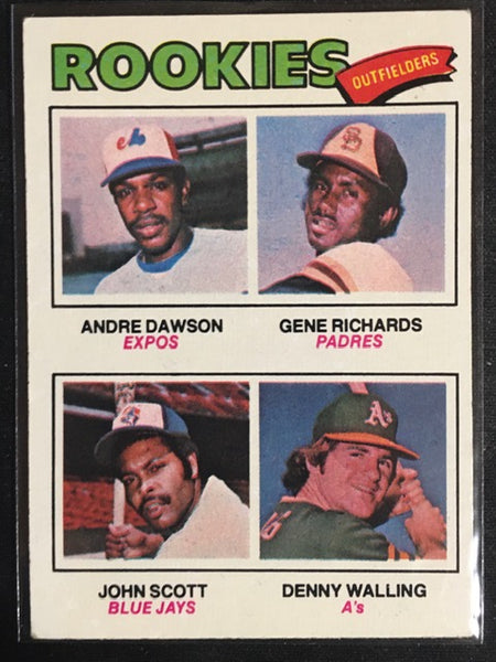 1977 Topps - ANDRE DAWSON - Rookies Outfielders - Card # 473
