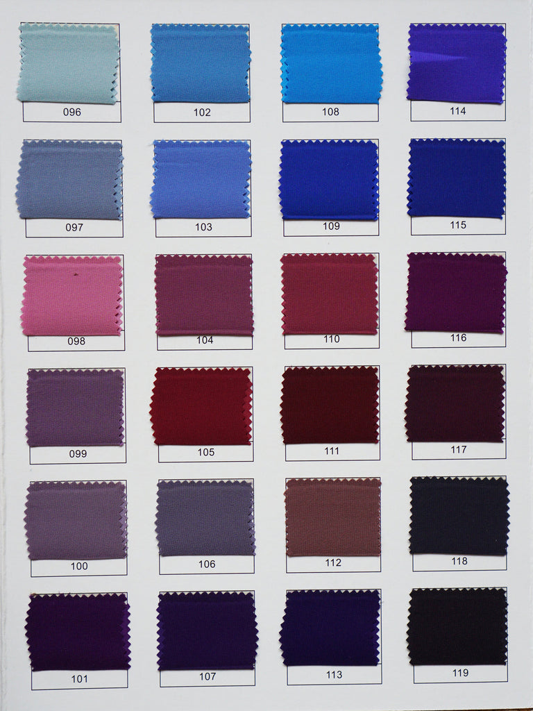 Custom color chart for all types of silk cloud hunter we are able to send you this color chart book to view in person and styles we have in stock to ensure you are happy with your custom creation ombrellifo Images