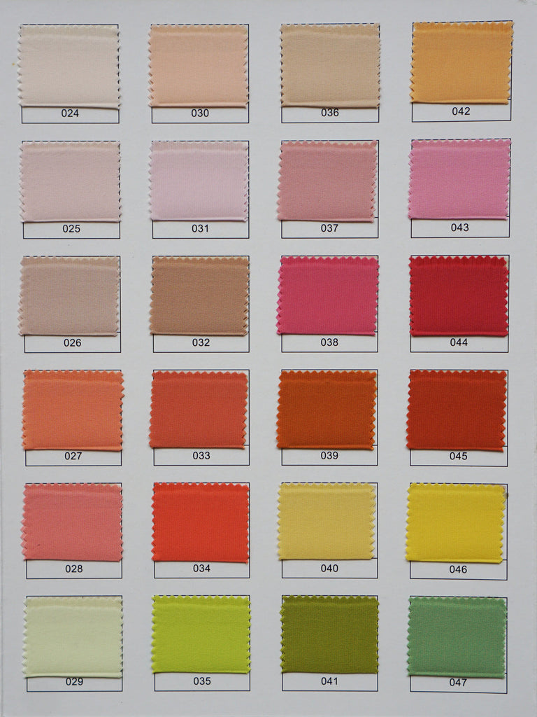 Custom color chart for all types of silk cloud hunter we are able to send you this color chart book to view in person and styles we have in stock to ensure you are happy with your custom creation nvjuhfo Image collections