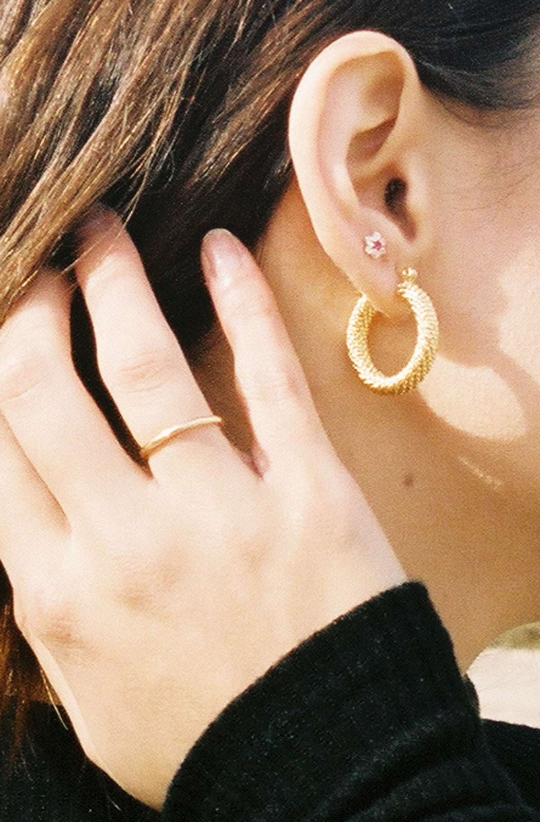 Eloise Hoops Gold Plated