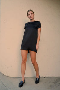 T-SHIRT SILK DRESS