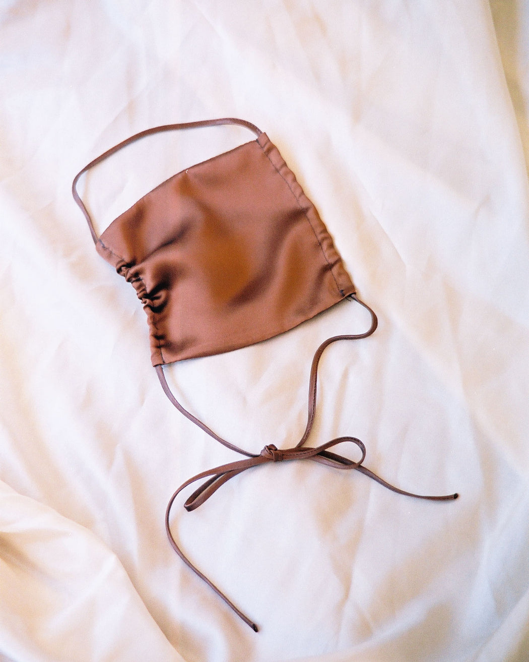 Copper Silk Face Covering