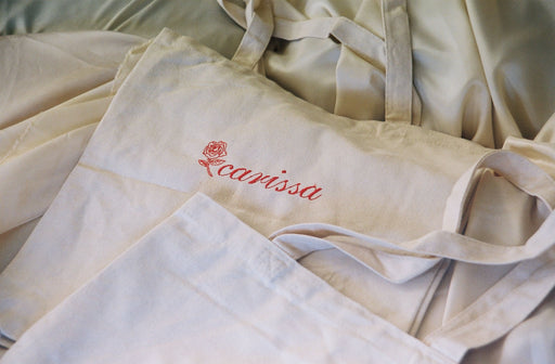 Personalized Embroidered Tote
