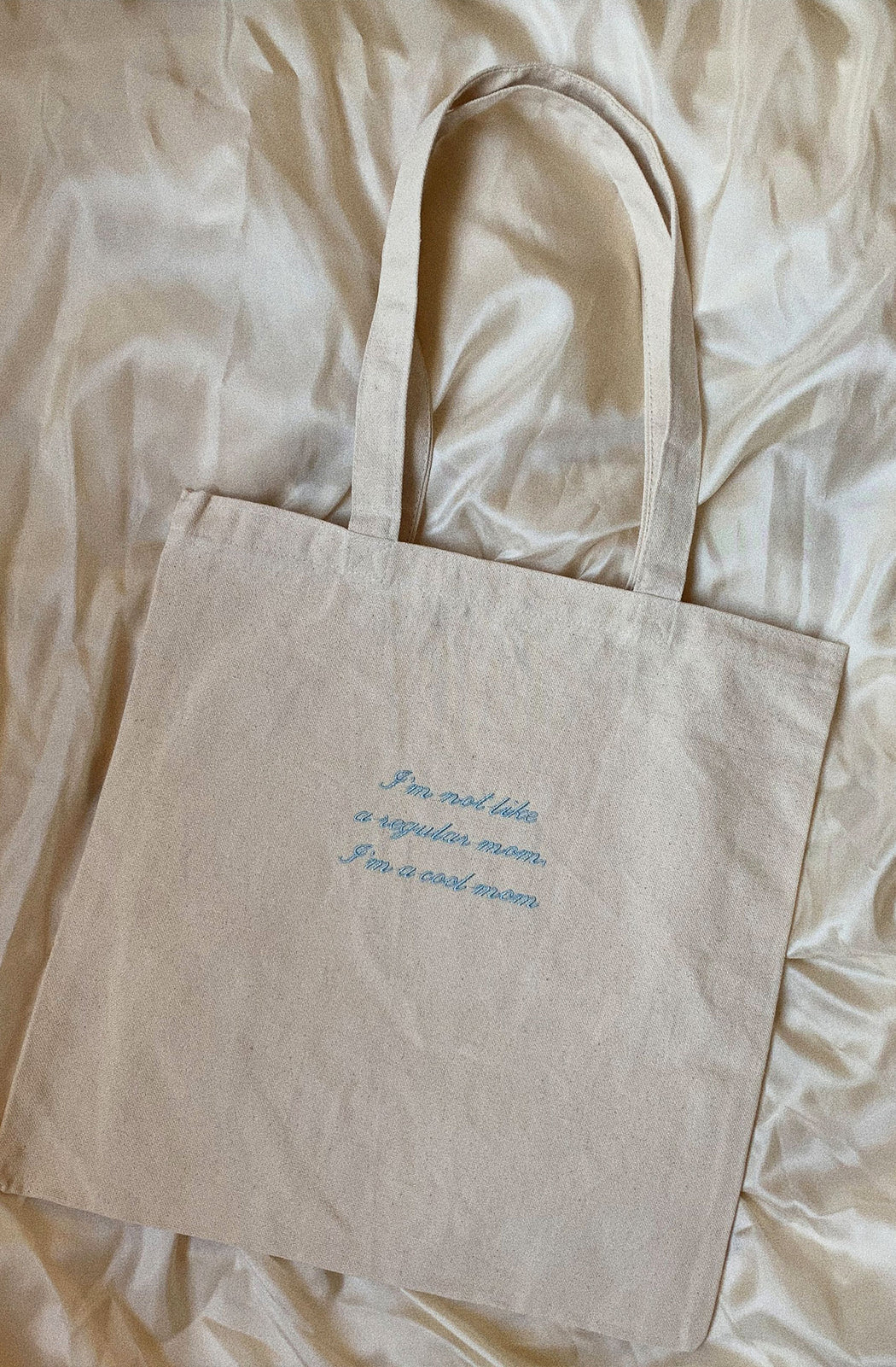 Cool Mom Embroidered Tote