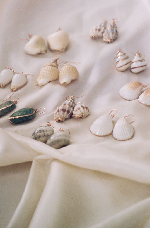 Seashell Earring Gold Plated