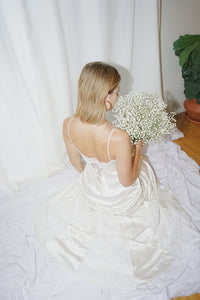 BRIDAL GOWN 04- Silk & Lace