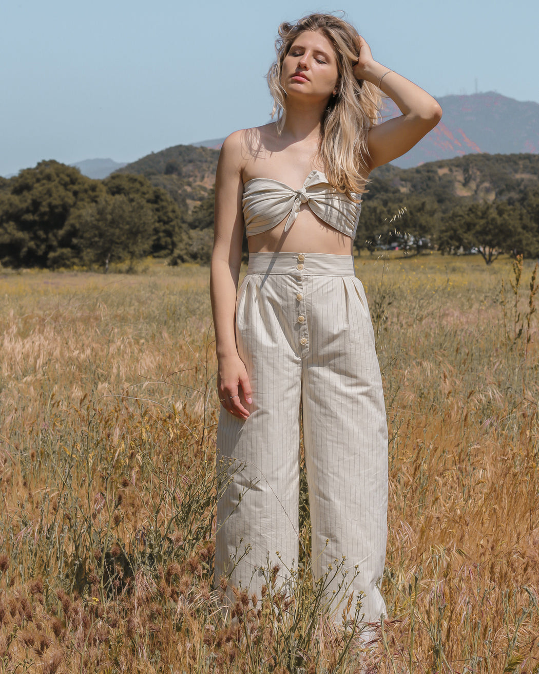 Stripped Alma Top & Pants