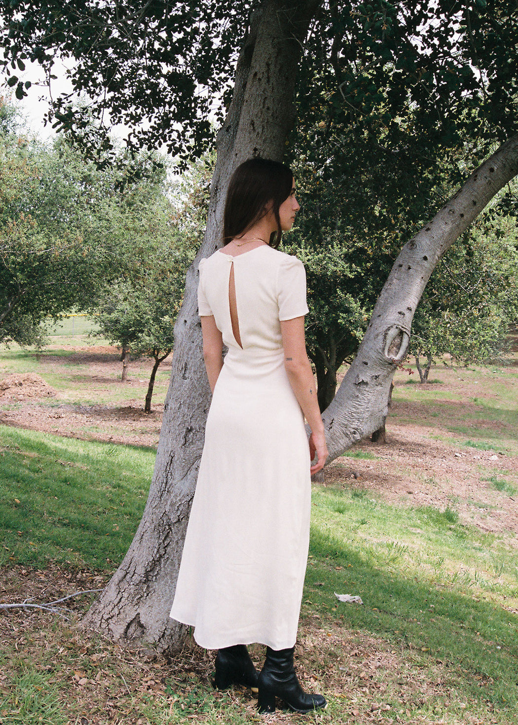 Dakota Dress in Oat