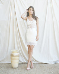 LACE AND SILK DRESS 05