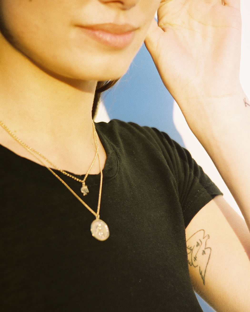 Zodiac Sign Necklace Gold Plated Vermeil