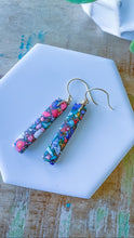 Multi Color Gemstone Earrings