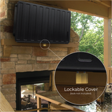 "Back-ordered Ships in 2-4 weeks - Storm Shell Outdoor TV Enclosure up to 44"" TV"
