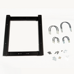 Storm Shell TV cover mounting brackets for pole assembly