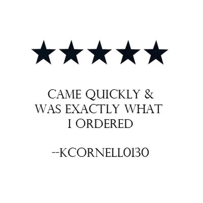 came quickly and was exactly what I ordered customer five star review